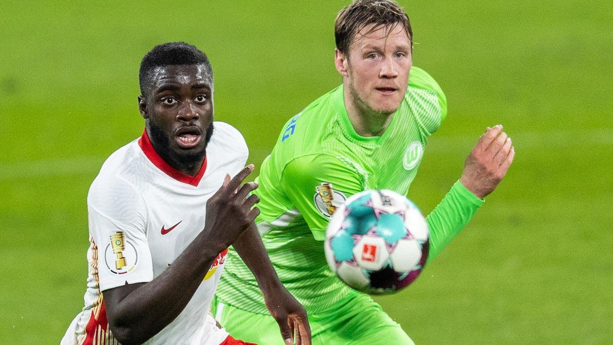 RB Leipzig gegen VfL Wolfsburg