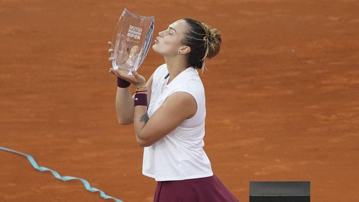 Aryna Sabalenka (WTA 1000 Madrid 2021)