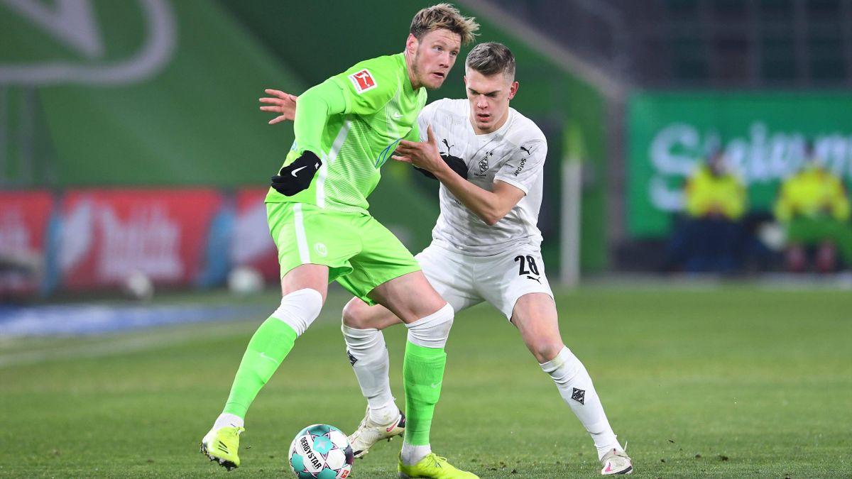 Der VfL Wolfsburg und Borussia Mönchengladbach trennten sich torlos