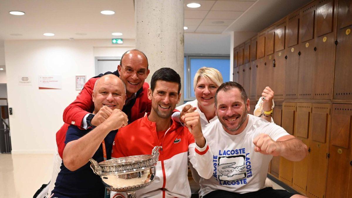 Novak Djokovic & Team