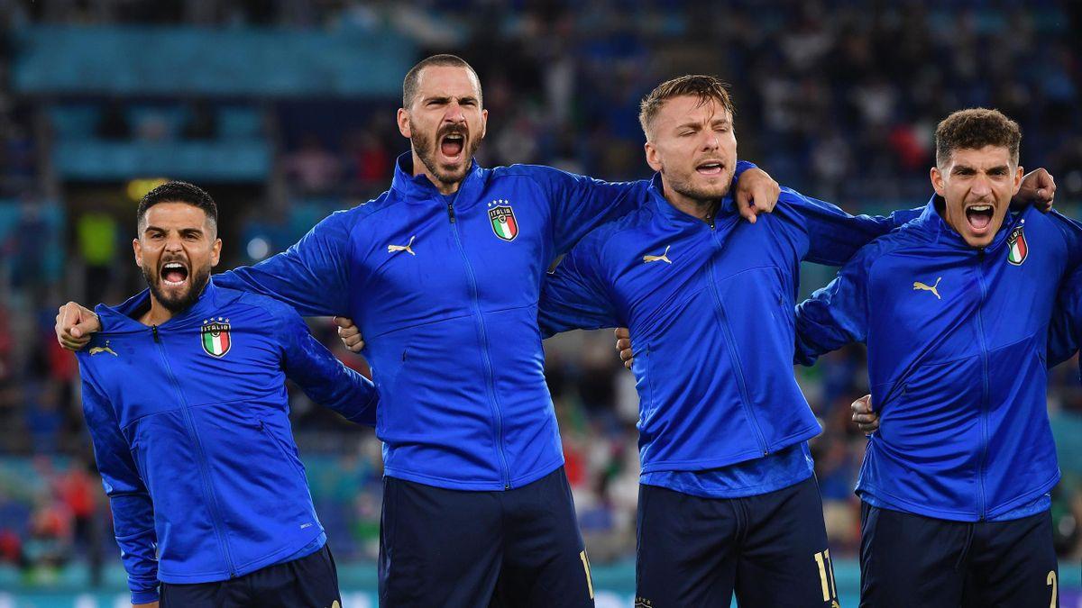 Italia-Svizzera, l'urlo all'inno