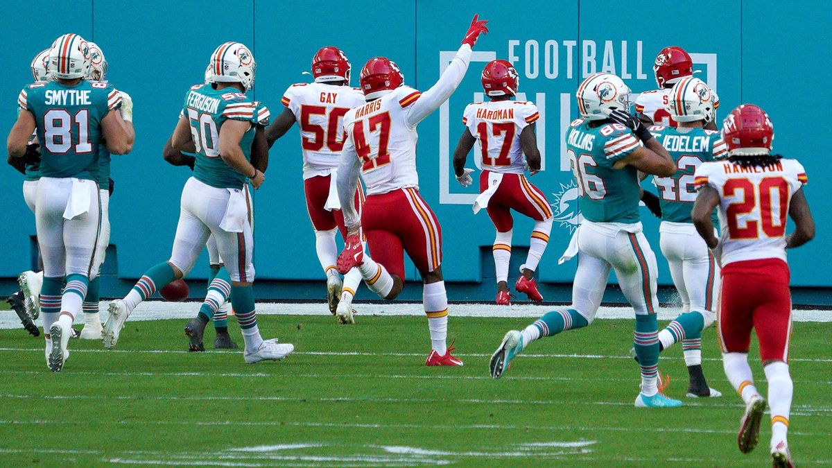 Kansas City Chiefs vs. Miami Dolphins
