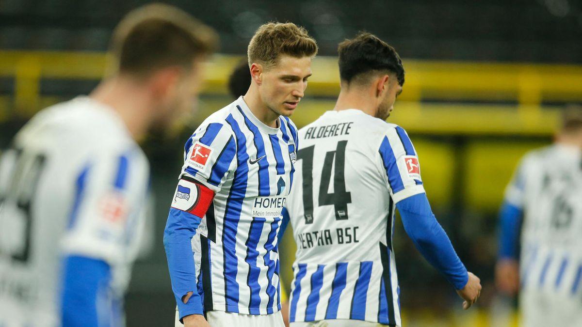 Bei Hertha BSC steigt die Angst im Abstiegskampf