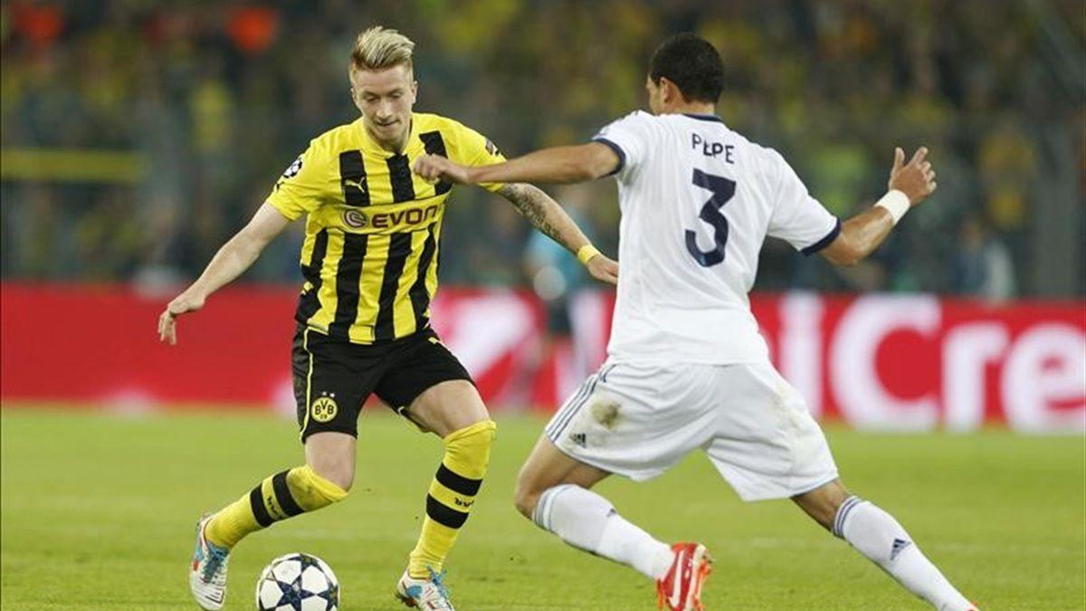 Real Madrid - Borussia Dortmund maçı büyük heyecana sahne oldu