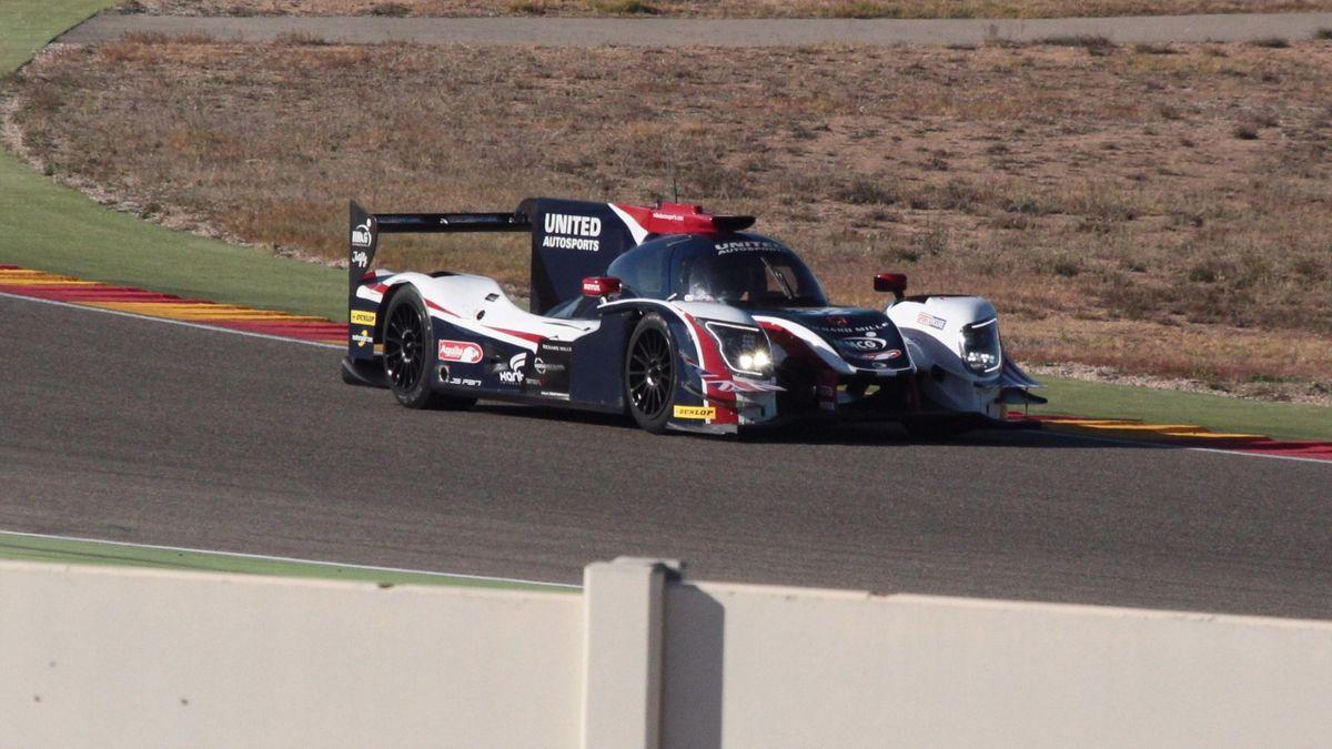 24 Horas Daytona: Fernnado Alonso realizando un test con el equipo United Autosports