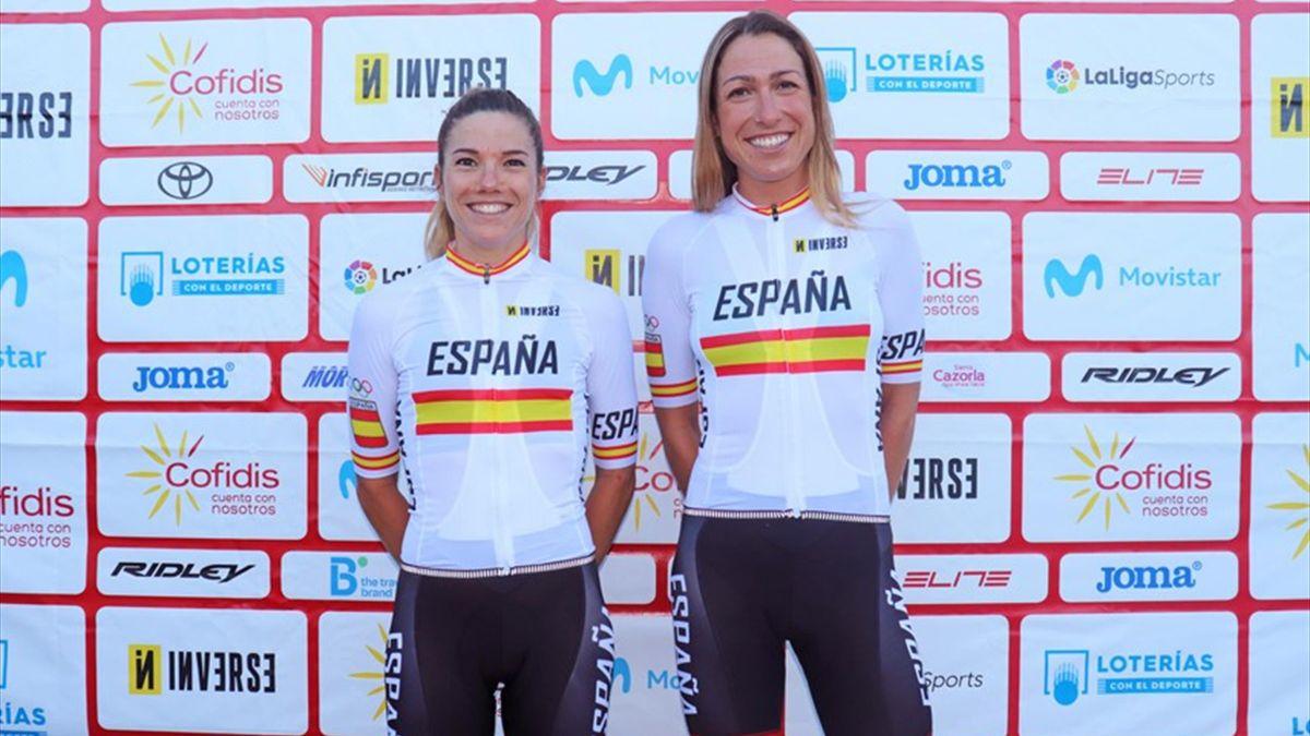 Diseño de los maillots que lucirán los ciclistas españoles en los Juegos Olímpicos de Tokio 2020.