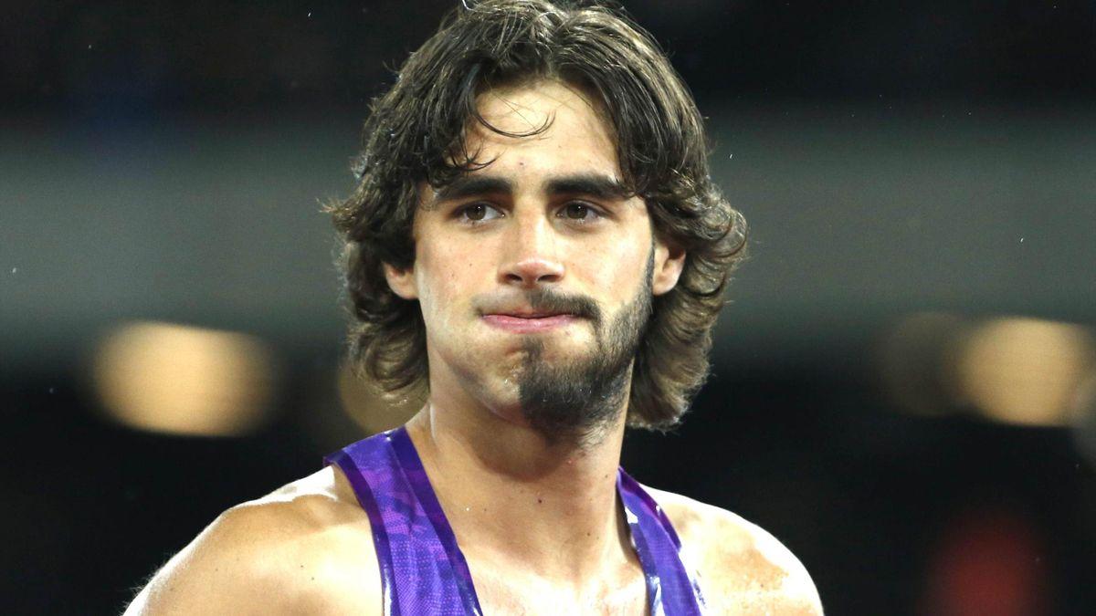 Gianmarco Tamberi is STILL sporting this bizarre half-beard - Eurosport
