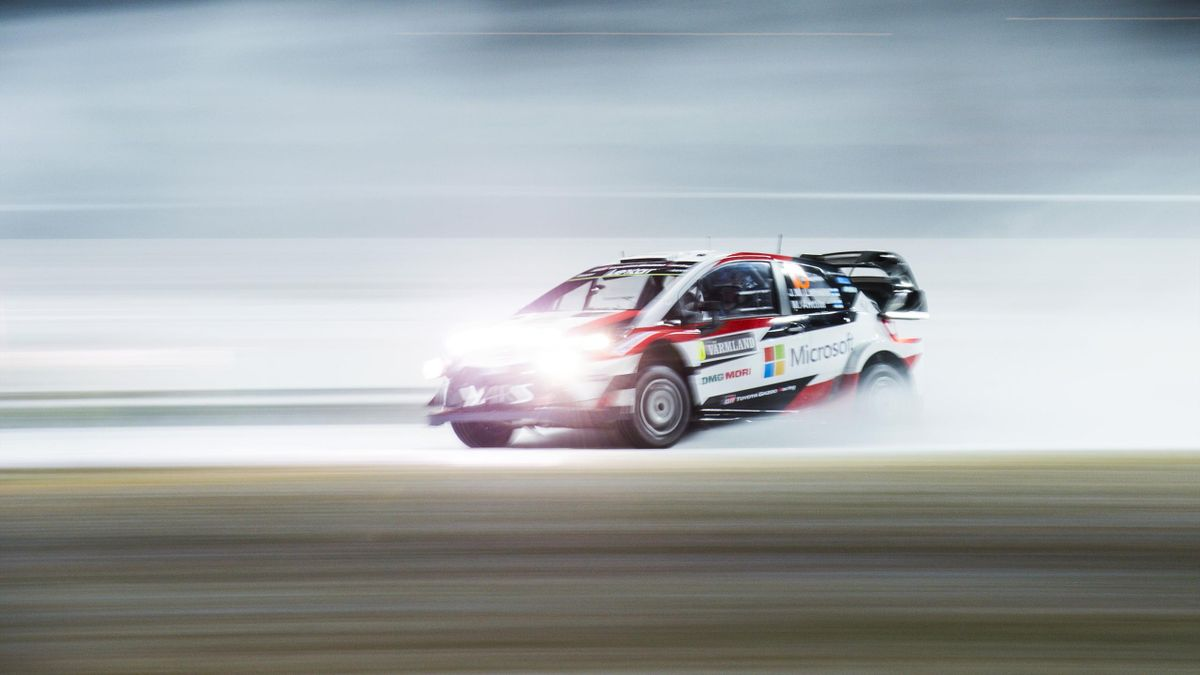 Jari-Matti Latvala (Toyota), Rally Sweden