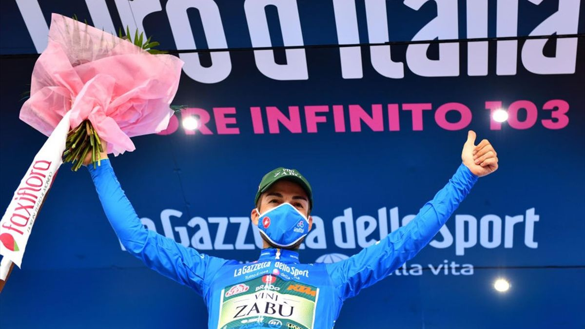 Giovanni Visconti - Giro d'Italia 2020, stage 15 - Getty Images