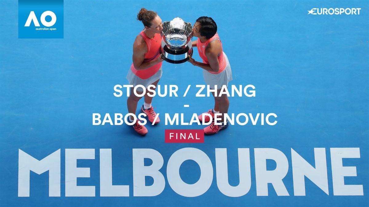 Australian Open - highlights : Stosur/Zhang - Babos/Mladenovic