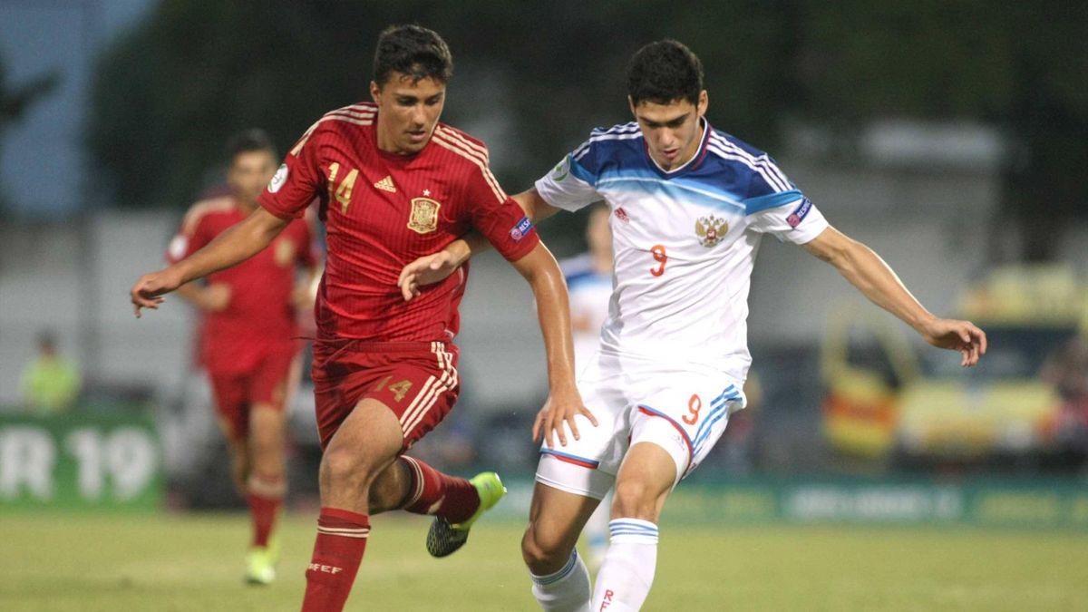 Россия U-19 – Испания U-19