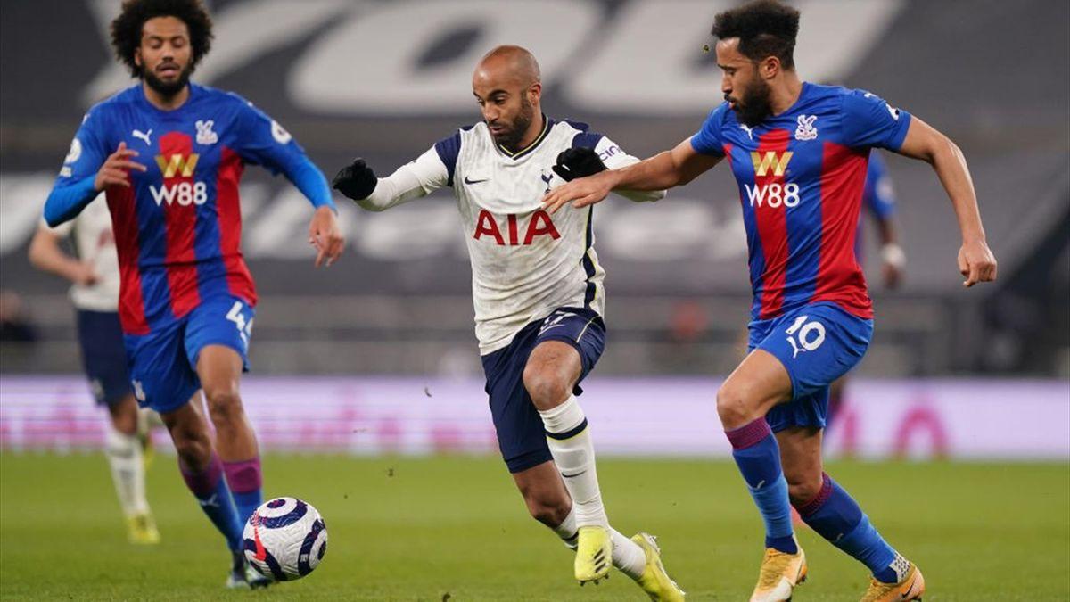 Lucas Moura contre Crystal Palace