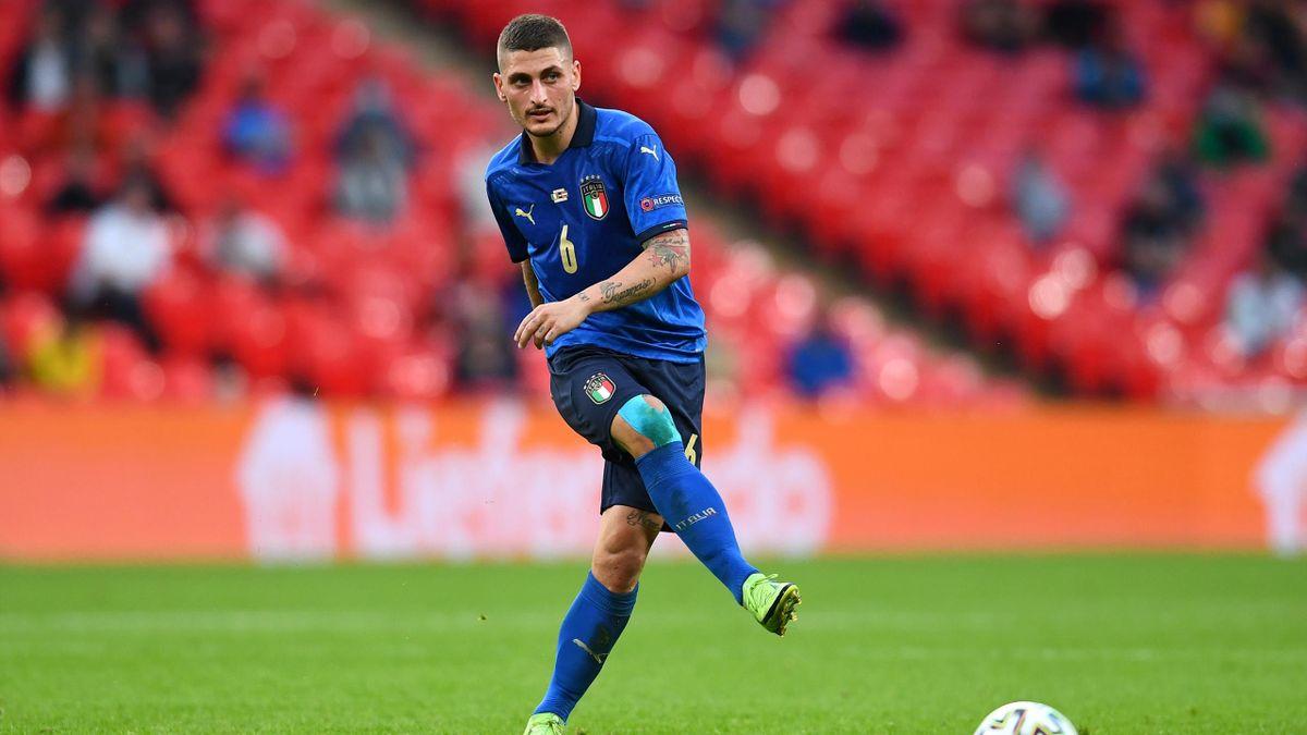 Marco Verratti steht mit Italien im EM-Viertelfinale