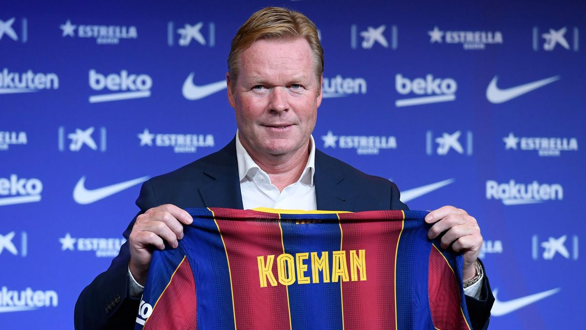 Ronald Koeman, noul antrenor al Barcelonei