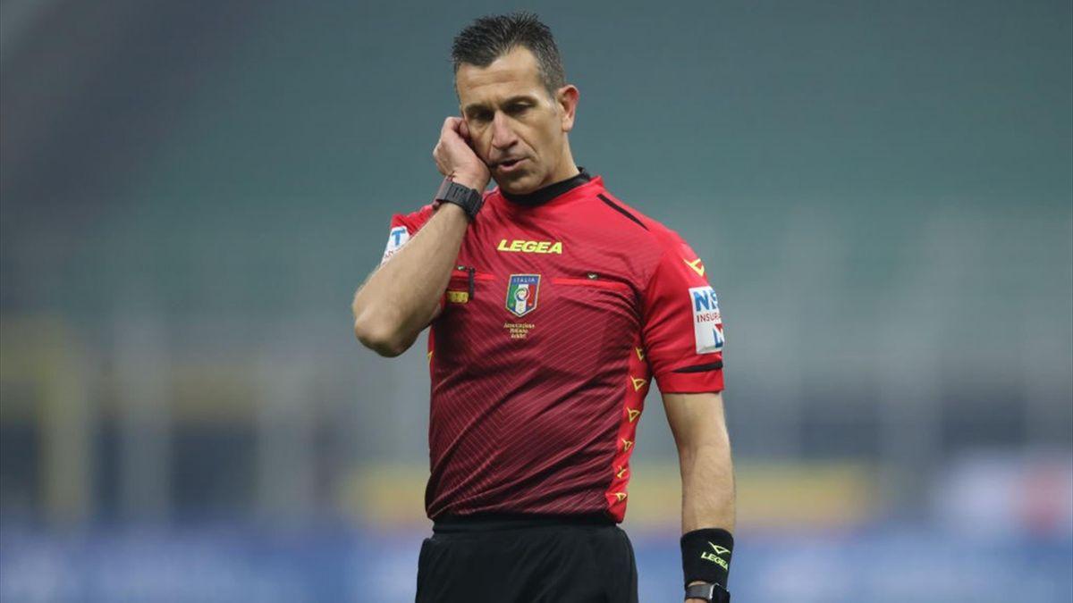 L'arbitro Daniele Doveri della sezione di Roma 1