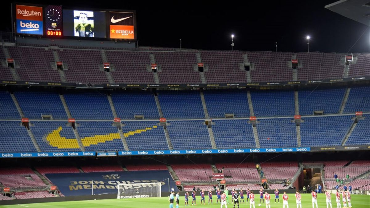 Il Camp Nou di Barcellona