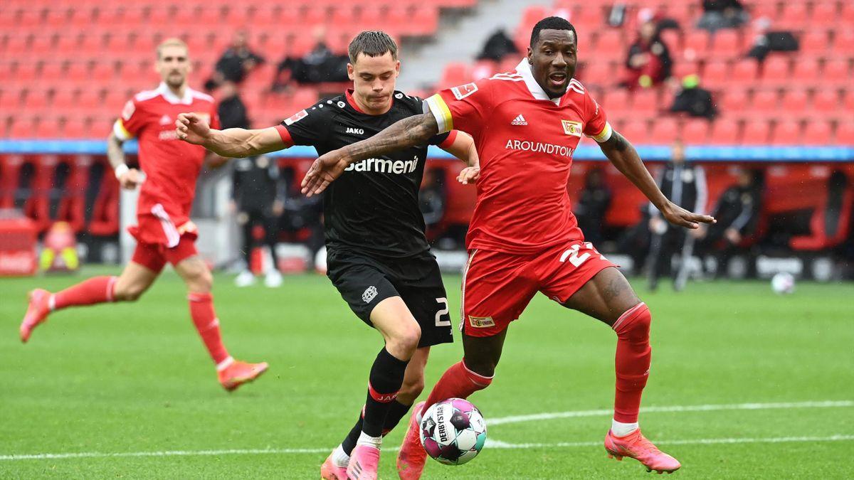 Bayer 04 Leverkusen und der 1. FC Union Berlin trennten sich Unentschieden