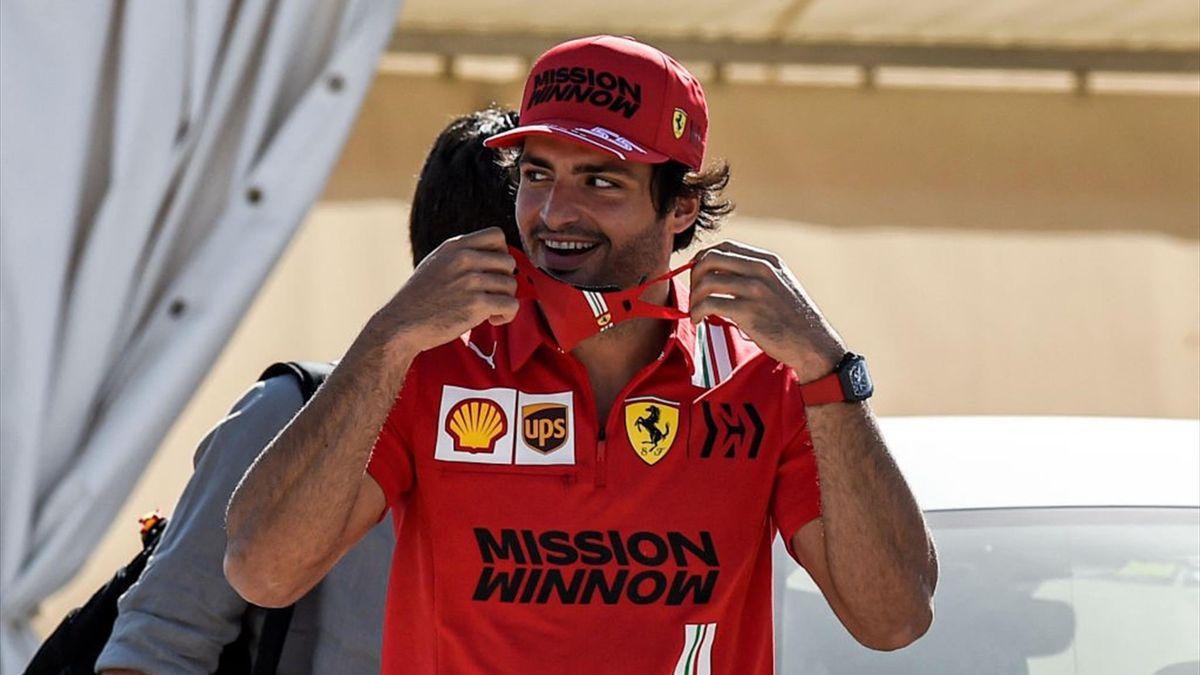 Carlos Sainz è alla sua prima stagione in Ferrari
