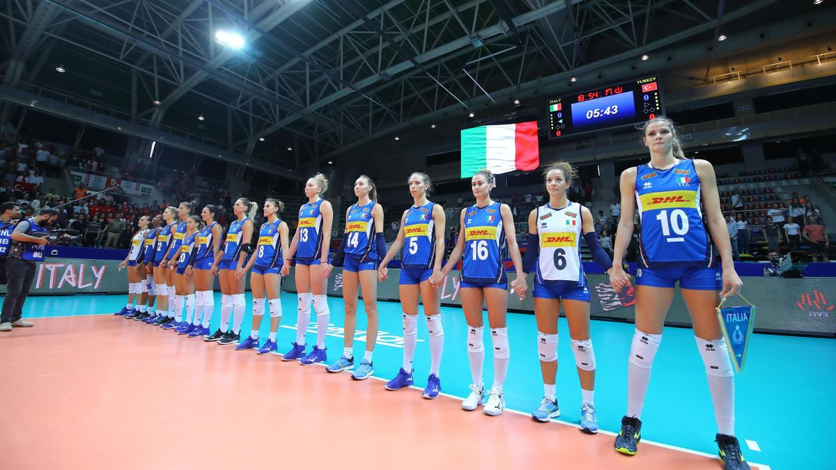 Italia - Volleyball Nations League 2019 (credit: FIVB)