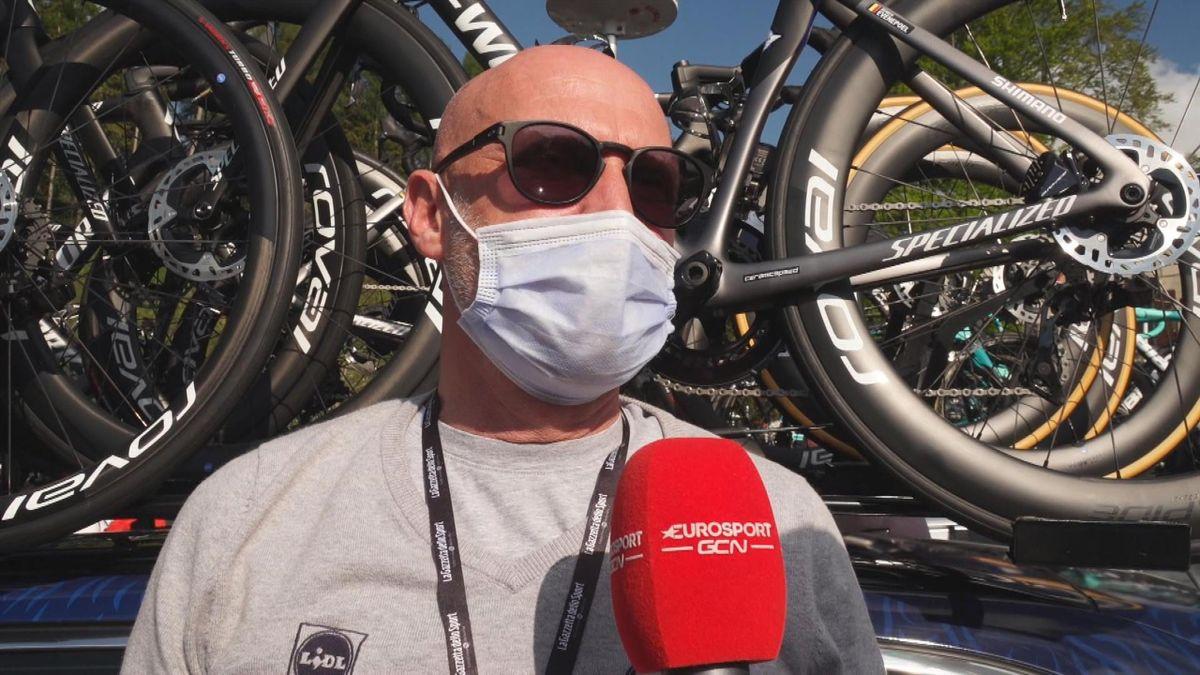 """Giro d'Italia  """"Het is aan de dokter en Remco zelf"""" Geert van Bondt"""