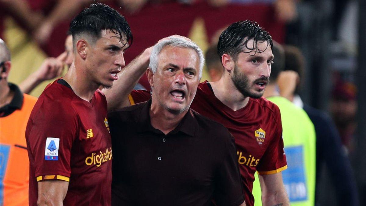 Jose Mourinho - Trainer der AS Roma