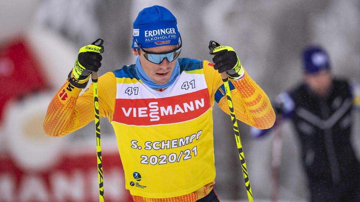 Simon Schempp wurde nicht für das das deutsche Aufgebot beim Weltcup in Antholz nominiert