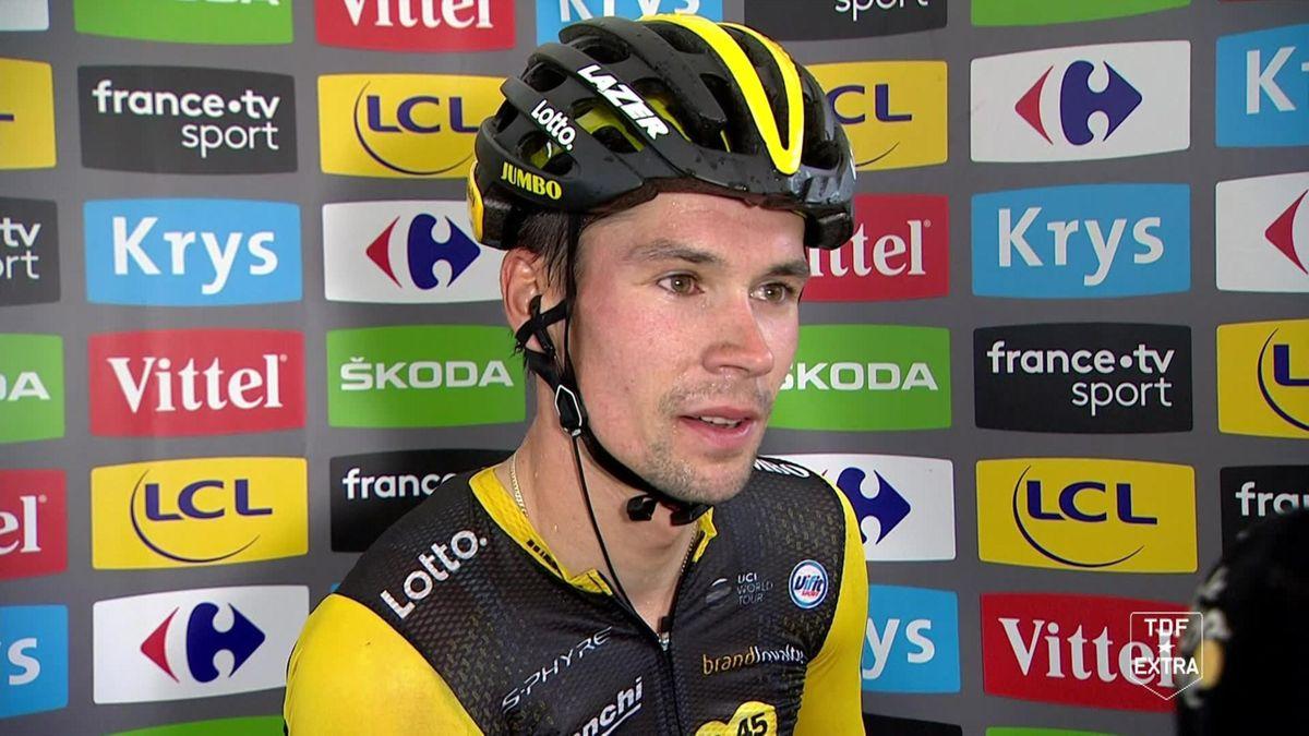 Tour De france Stage 19 : Interview Roglic