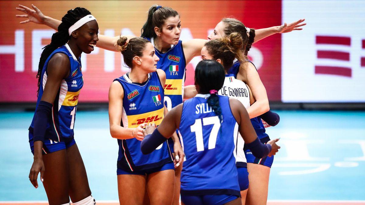 La squadra italiana di pallavolo