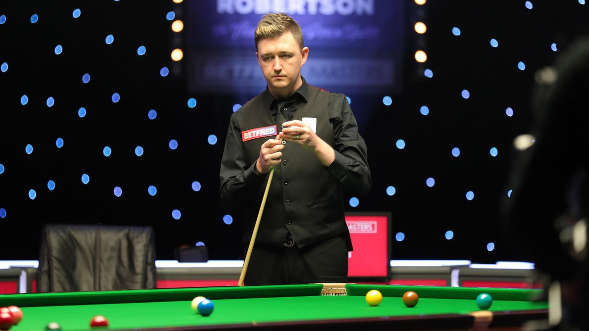 Kyren Wilson at the 2021 Masters