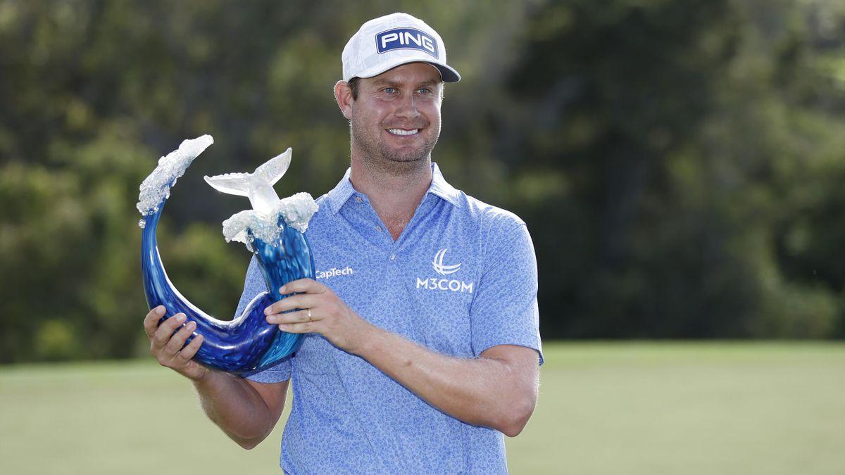 Harris English, vainqueur du Tournoi des Champions le 10 janvier 2021