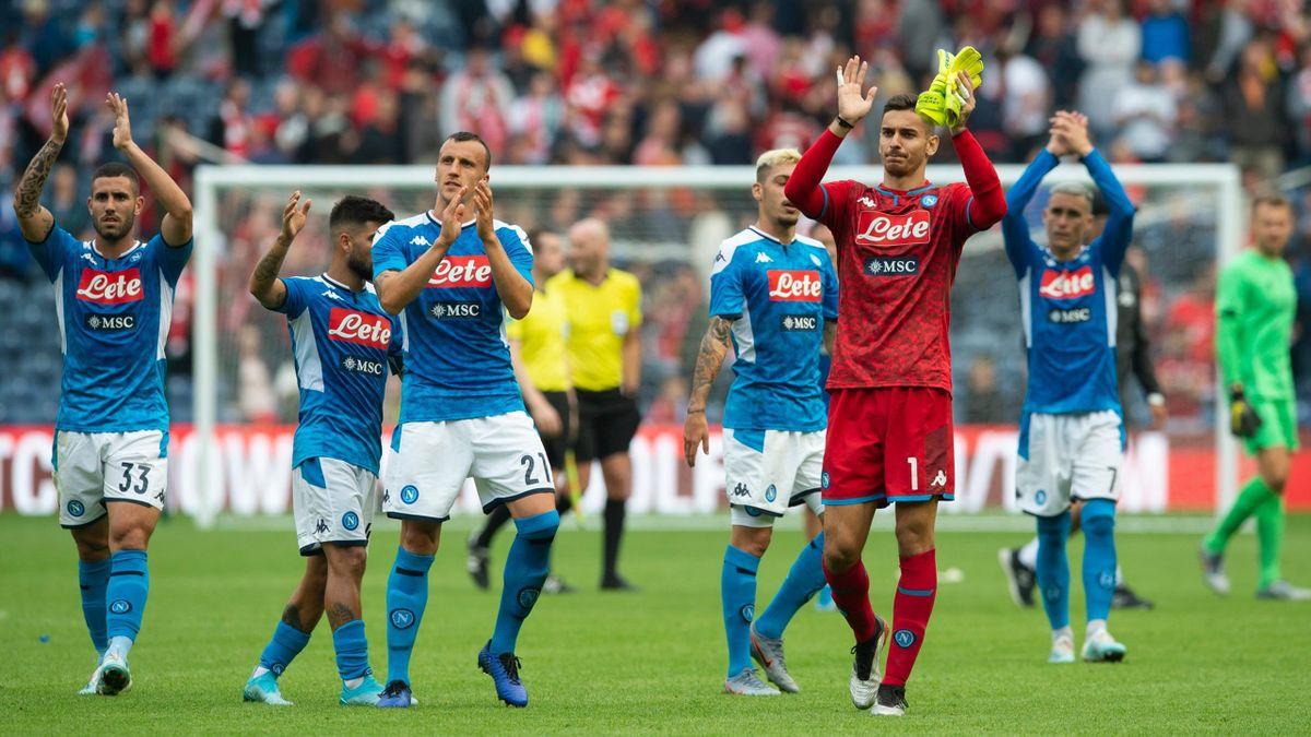 Il Napoli vince 3-0 l'amichevole contro il Liverpool
