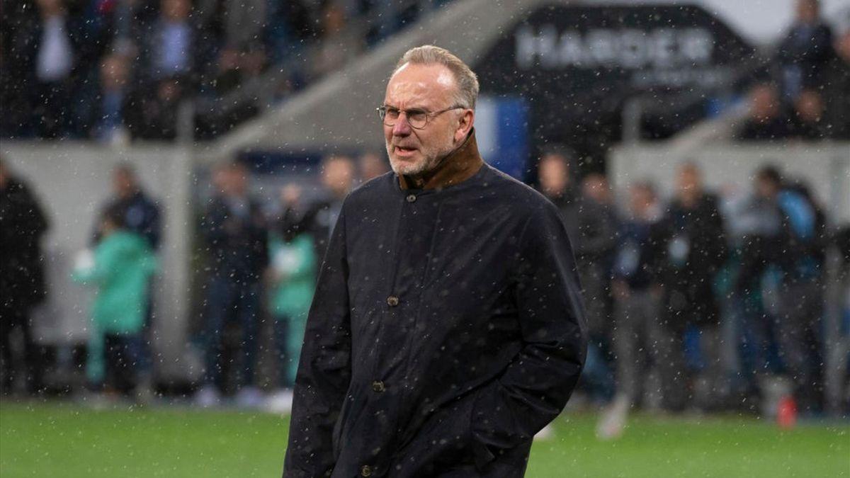 Karl-Heinz Rummenigge vom FC Bayern München