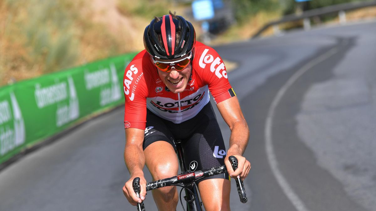 Jelle Wallays of Belgium and Team Lotto Soudal / during the 73rd Tour of Spain 2018, Stage 4 a 161,4km stage from Velez-Malaga to Alfacar.