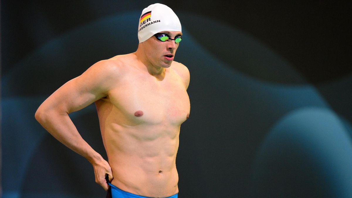 Biedermann hat über 400 m Freistil Silber gewonnen