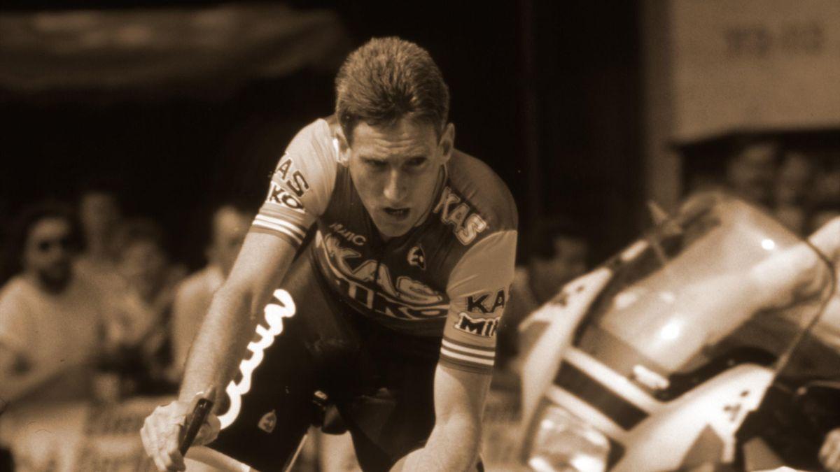 Re-Cycle: 'That was my best chance' – when Adrie Van der Poel denied Sean Kelly in his pomp