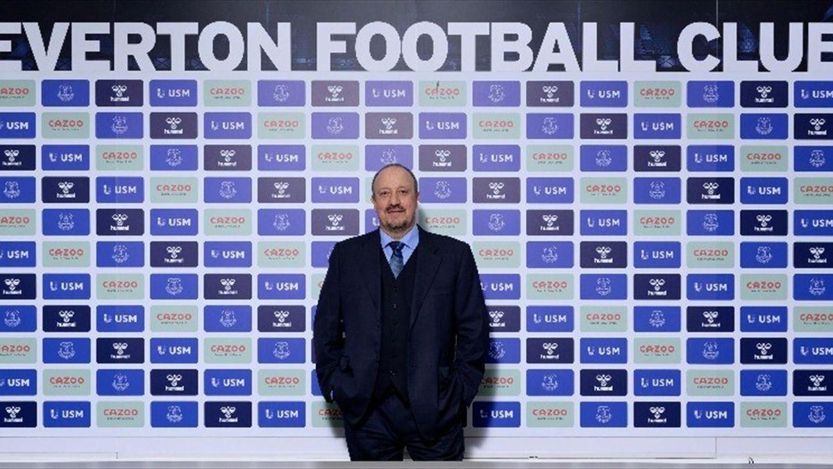 Rafa Benitez nuovo manager dell'Everton, 30 giugno 2021