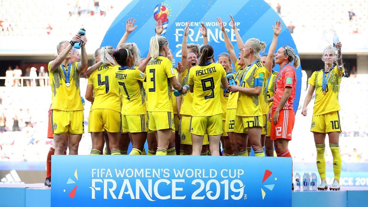 La festa della Svezia, terza ai Mondiali femminili di Francia 2019