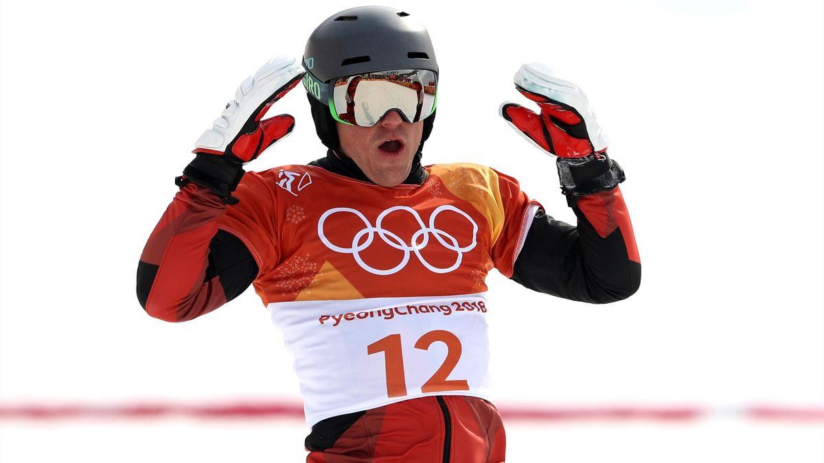 Olympia 2018 -  Nevin Galmarini of Switzerland