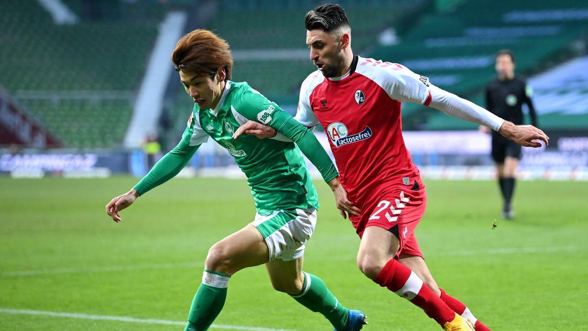 Kein Sieger gab es in Bremen zwischen Werder und dem SC Freiburg