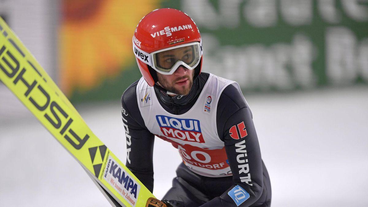Markus Eisenbichler bei der Skisprung-WM in Oberstdorf