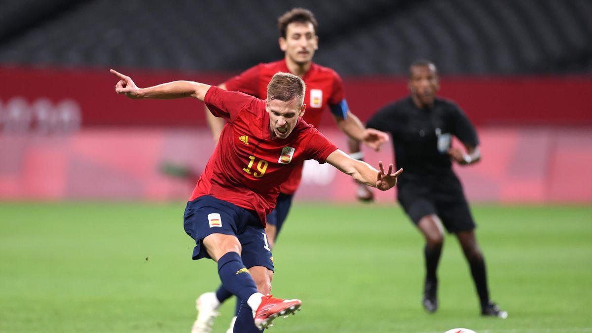 Dani Olmo (España, fútbol). Juegos Olímpicos Tokio 2020
