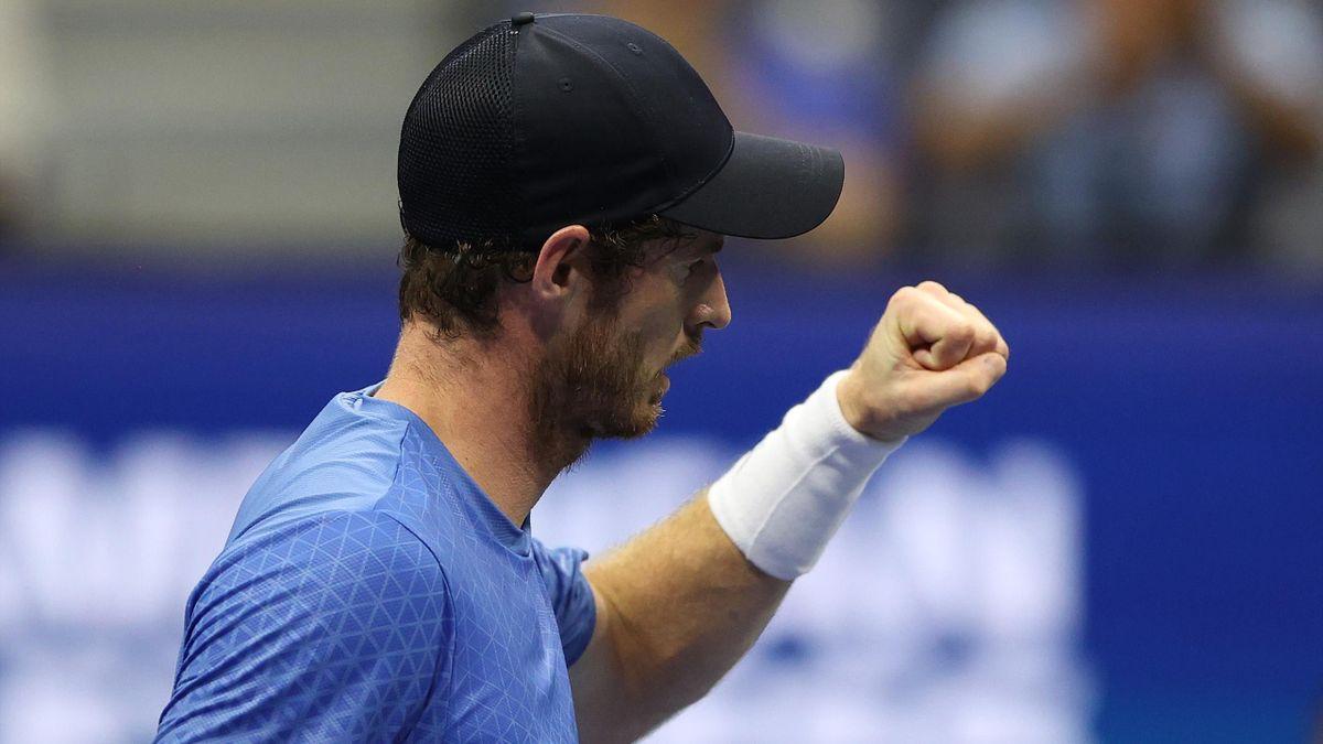 Andy Murray à l'US Open en 2021