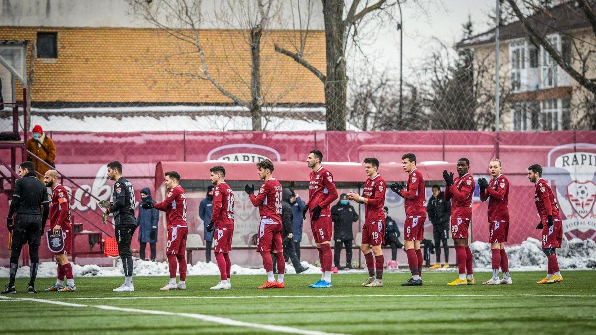 Rapid se pregătește pentru reluarea Ligii a 2-a (sursa foto: FC Rapid 1923)