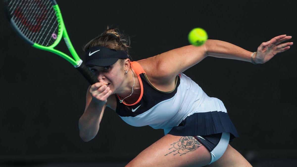 Elina Svitolina 2021 bei den Australian Open in Melbourne