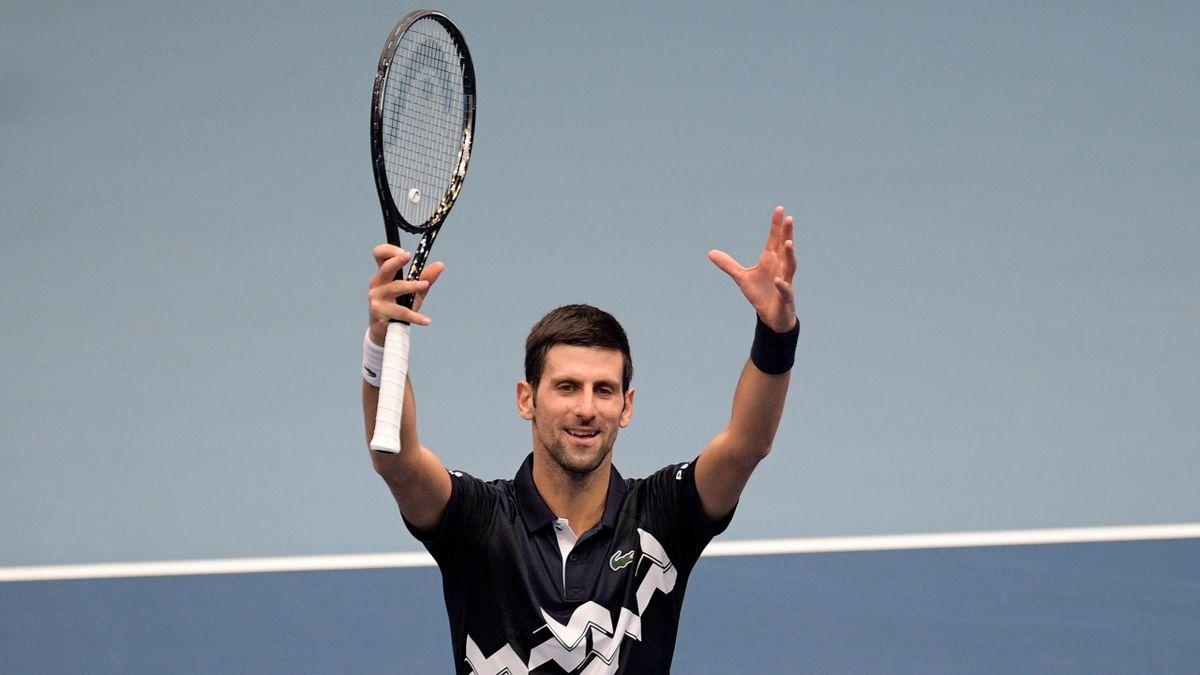 Novak Djokovic in Wien 2020