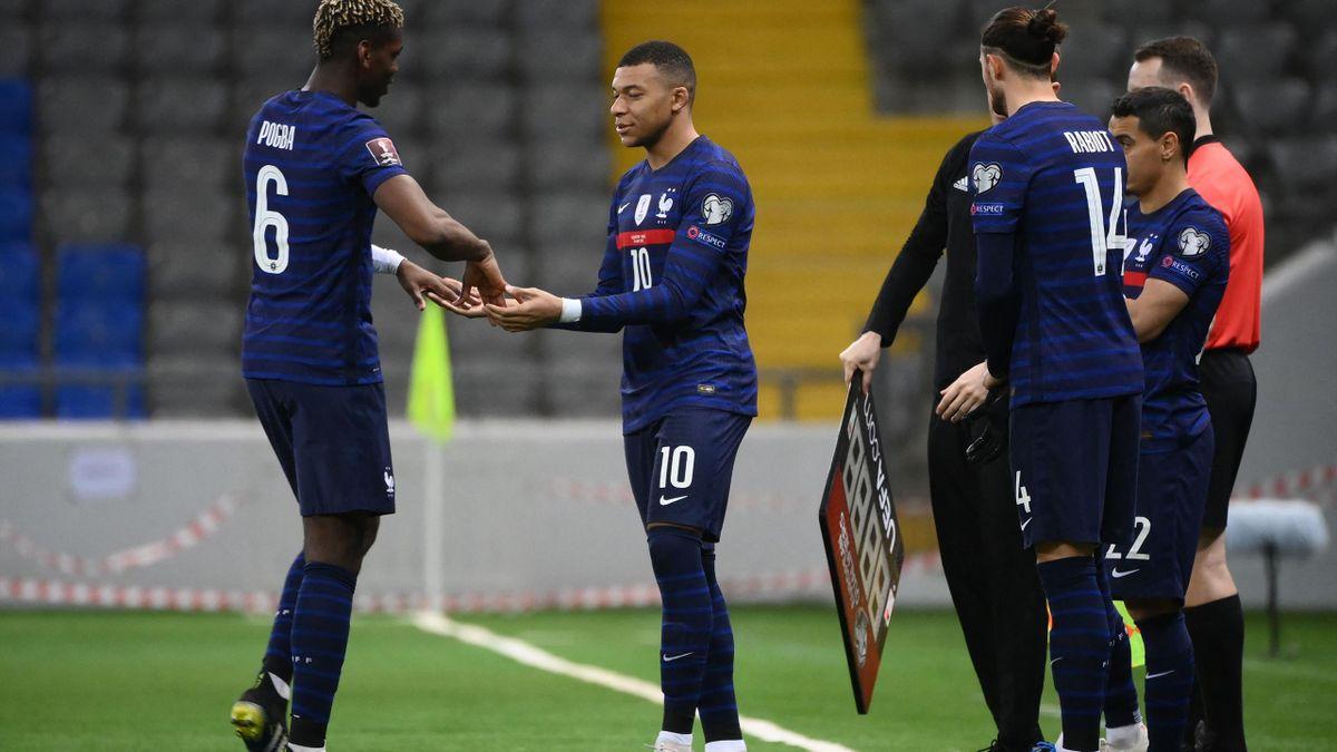 Remplacements en équipe de France