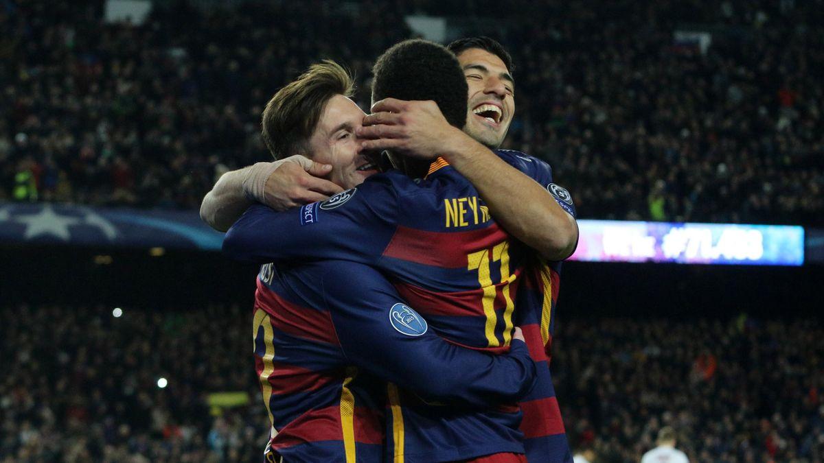 MSN Suarez Neymar Messi novembre 2015