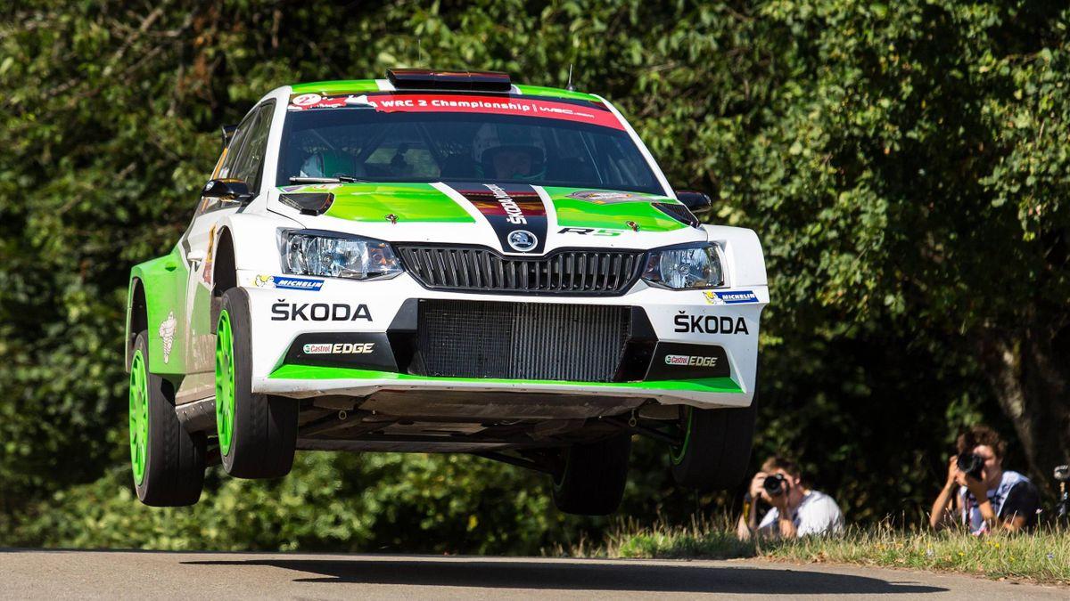 Jan Kopecky siegte bei der Barum-Rallye