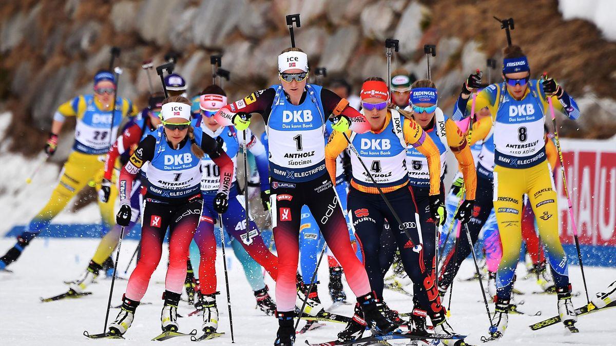 Biathlon, Massenstart