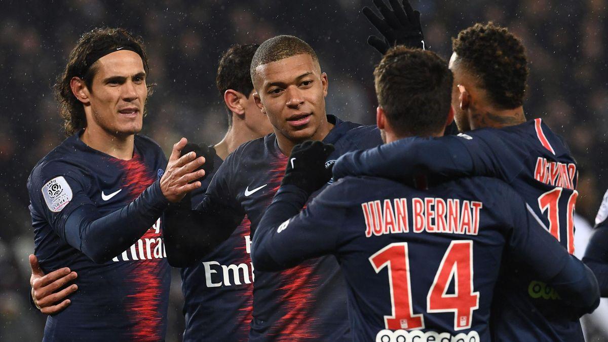 Football news - Goals galore as PSG enjoy Guingamp revenge win ...